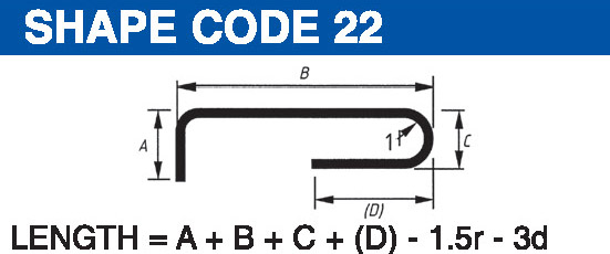 Shape codes 22
