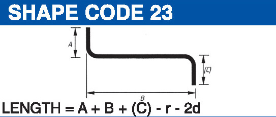 Shape codes 23