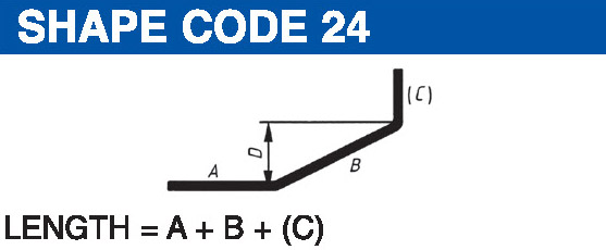 Shape codes 24