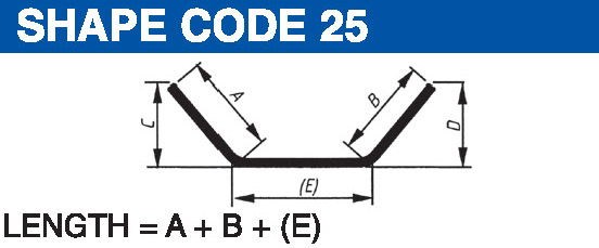 Shape codes 25