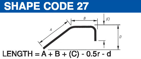 Shape codes 27