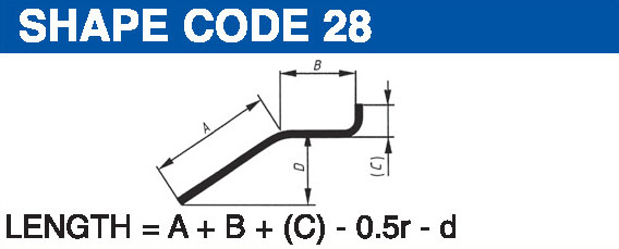 Shape codes 28