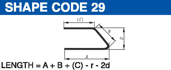 Shape codes 29