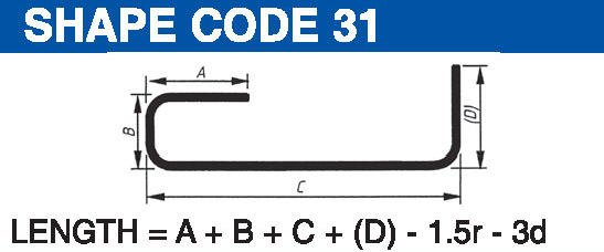 Shape codes 31