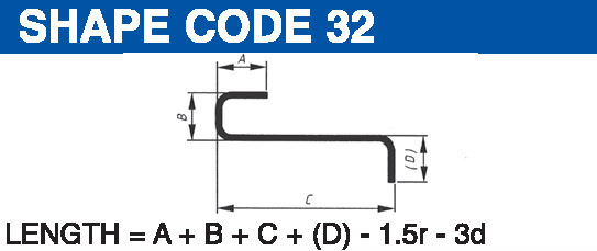 Shape codes 32