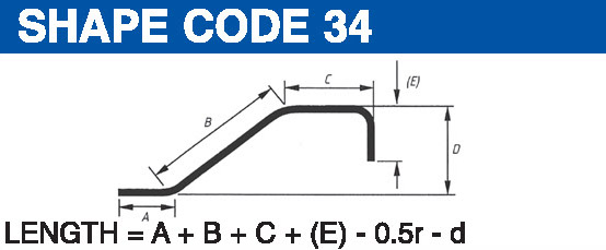 Shape codes 34