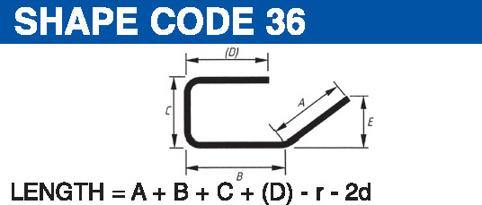 Shape codes 36