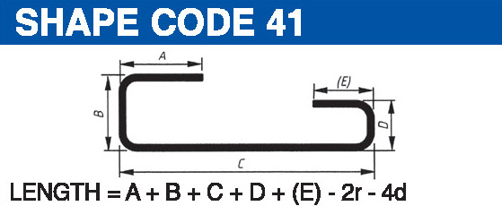 Shape codes 41