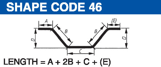 Shape codes 46