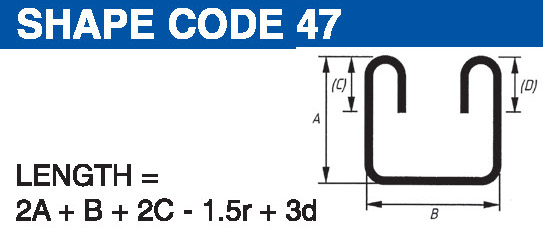 Shape codes 47