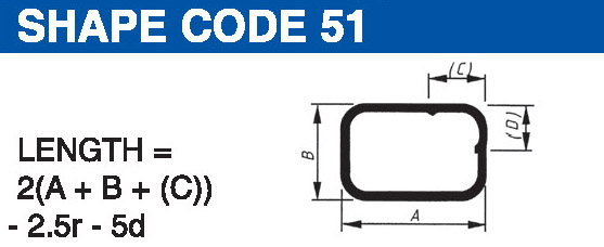 Shape codes 51