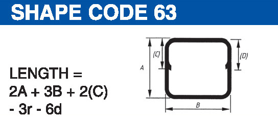 Shape codes 63
