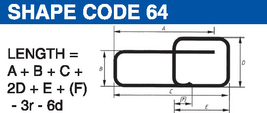 Shape codes 64